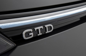 VW Golf GTD - Logo