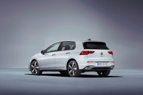 VW Golf GTE - hinten