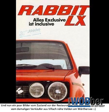 Golf 1 / Rabbit 1