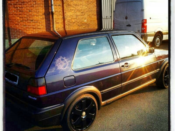 Golf 2 vr6 - Fire and ice