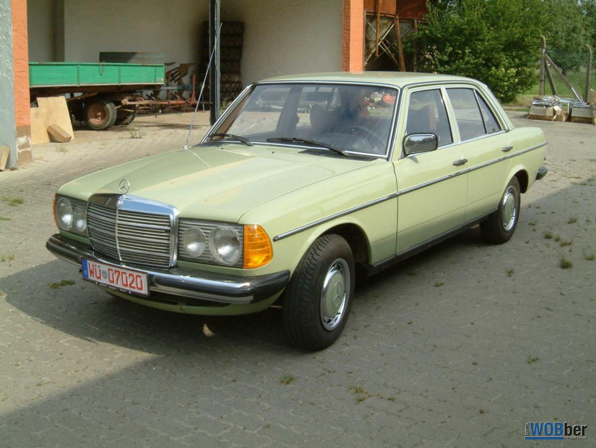 Mercedes 200D W123