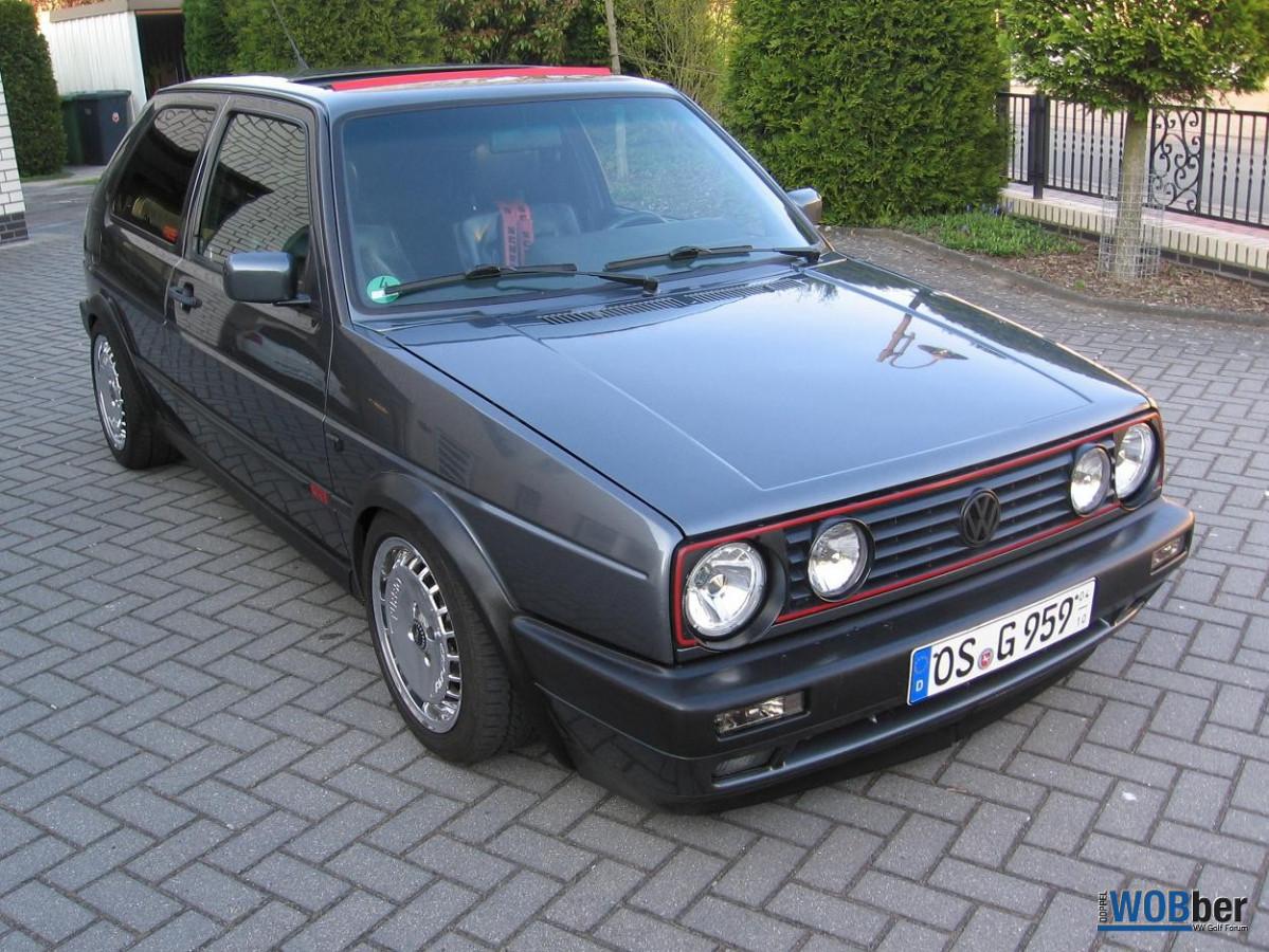 Mein Golf 2 GTI