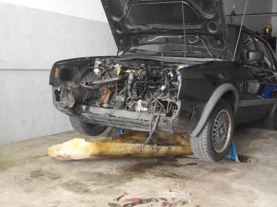 Ausbau SB Motor
