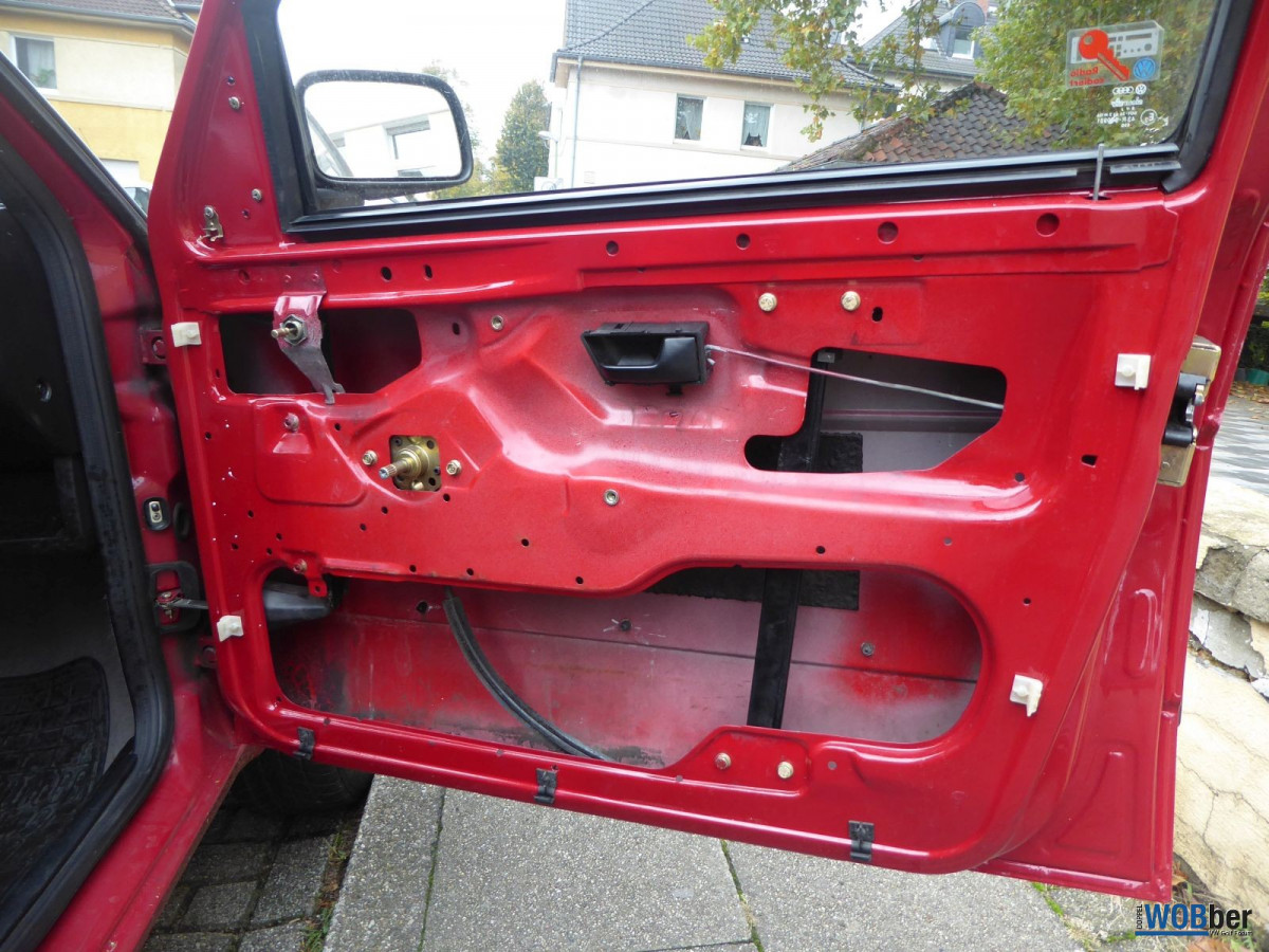 VW Golf II CL - 045 - Beifahrertür ohne Folie