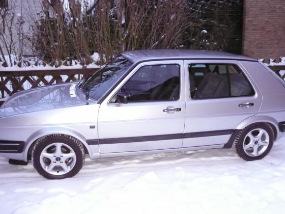 Golf 2 im Schnee