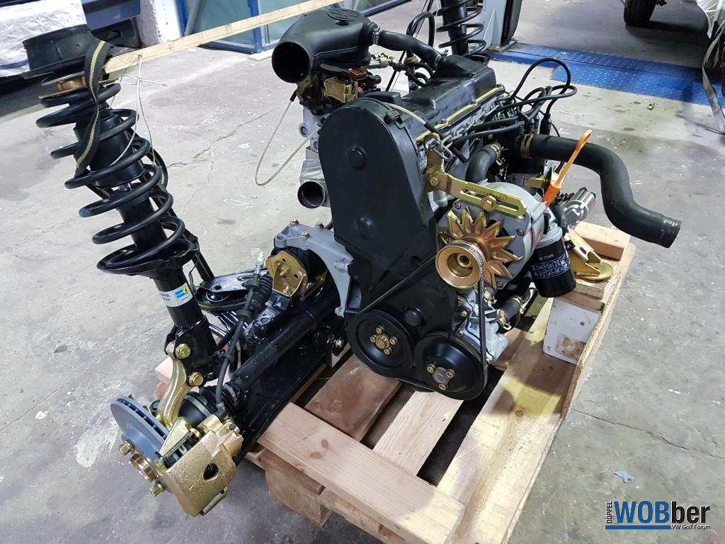 Motor & Achse