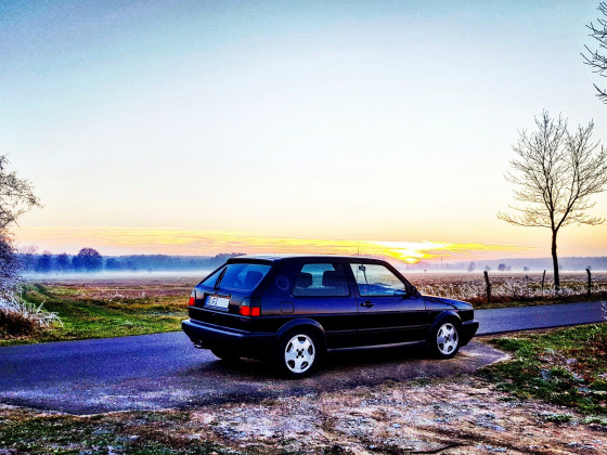 Fire and Ice GTI im Winter