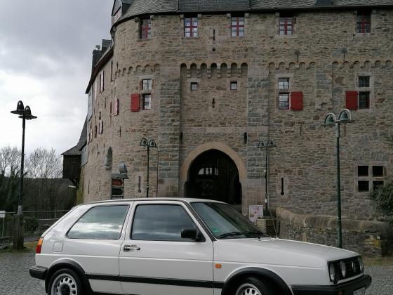 Mit der Zeitmaschine ins Mittelalter (Schloss Burg - Solingen)