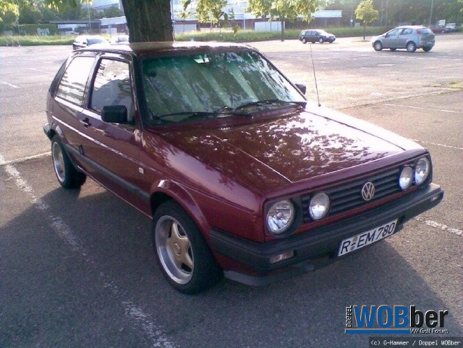 Golf 2 CL Sommertrimm