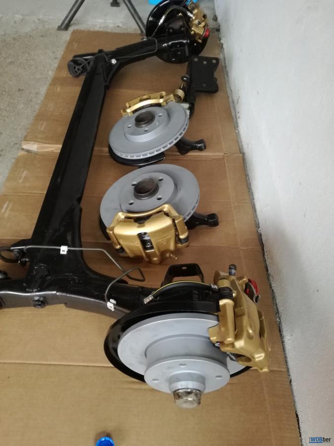 Neue Bremsanlage