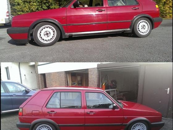 Vorher und Nachher :)