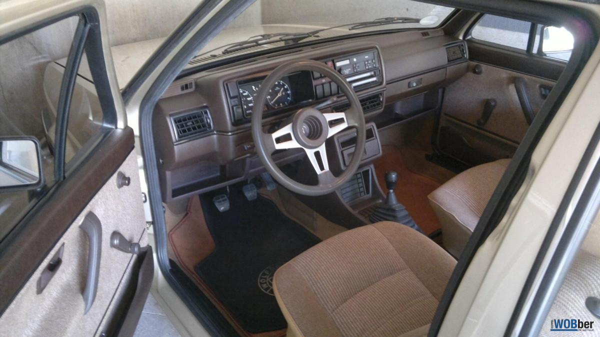 Innenraum Golf 2