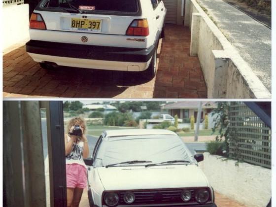 Australischer Golf GTI. Als Neuwagen, 1992