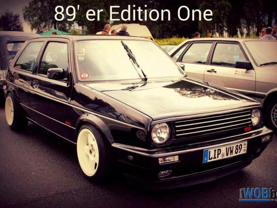 Golf 2 GTI Edition One