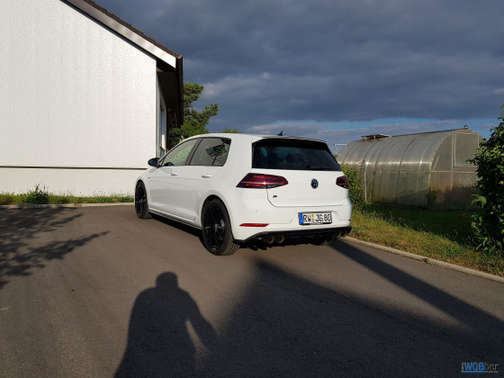 Golf 7 R Performance Akrapovič
