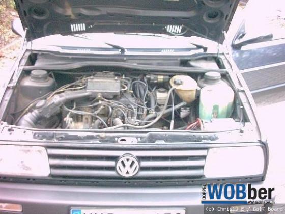 Der Motor meines Golfs
