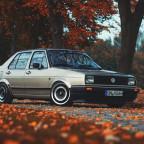 Mein Jetta im Herbst