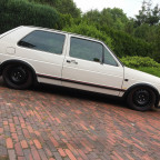 Golf 2 GX mit GTI Optik