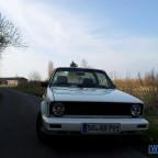 Golf 1 Cabrio mit LPG-Anlage