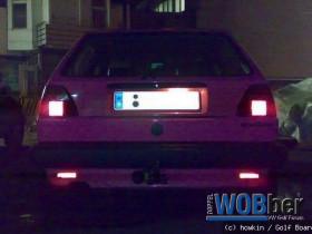 PinkPorn bei Nacht mit Licht