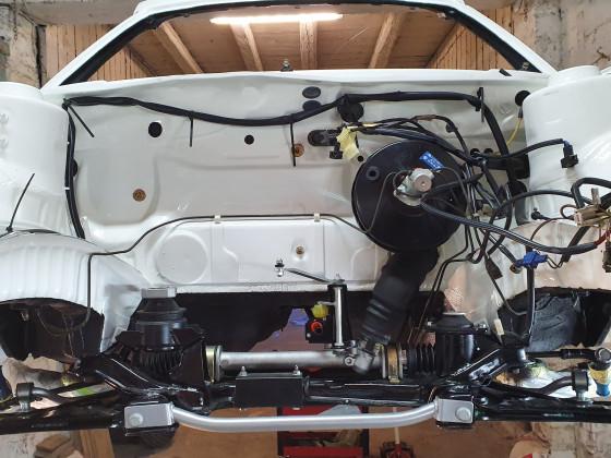 Neuaufbau Golf 2 Speedster Cabrio