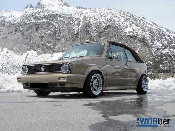 Golf 1 Cabrio BJ 1990