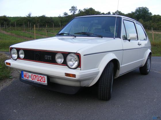 Golf 1 GTI Pirelli