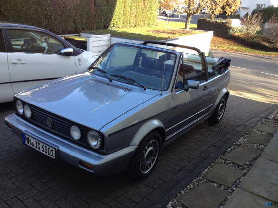 Golf 1 Cabriolet Quartett