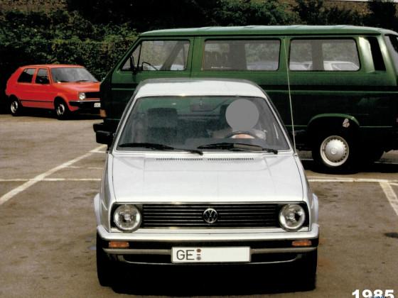 1985: Neufahrzeug