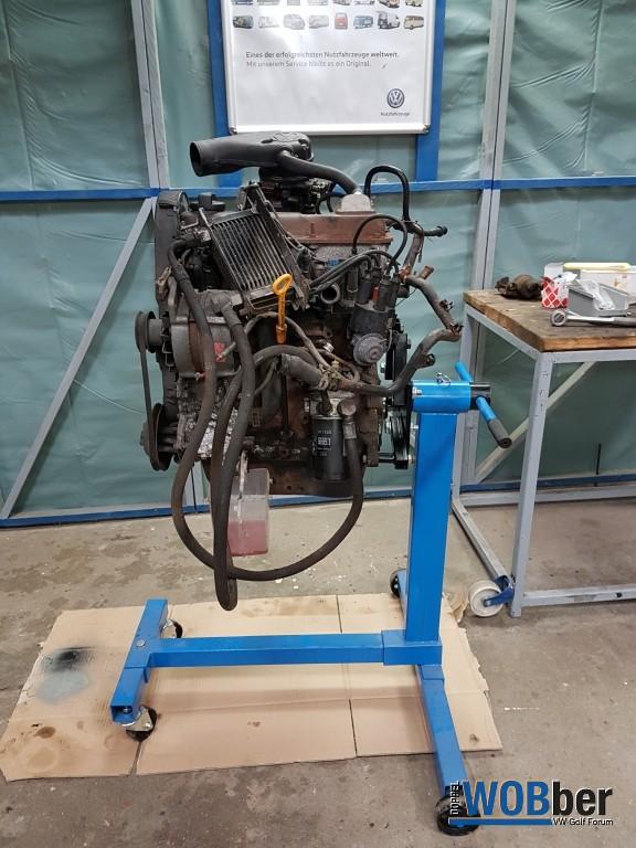 RP Motor nach Ausbau