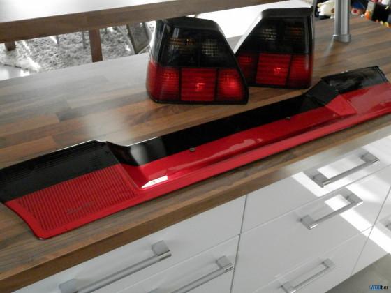 Blende Schwarz Rot