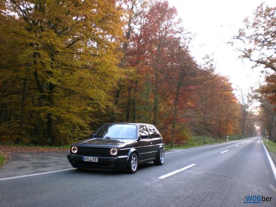 Golf 2 G60 im Herbst 2009