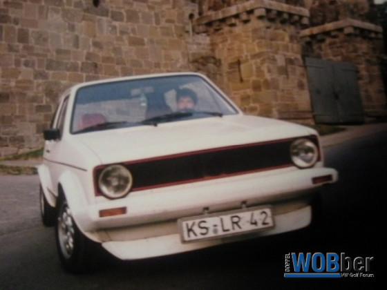 Meine Alten Golf 1 GTI `s und Pirelli +Caddy !!